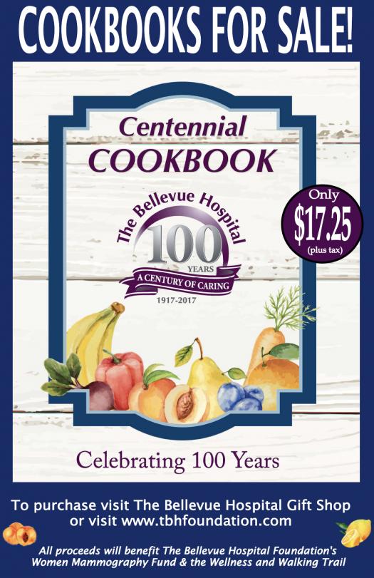 Centennial Cookbook For Sale