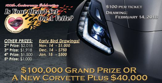 The Bellevue Hospital Foundation Corvette Raffle