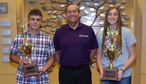The Bellevue Hospital Foundation in Ohio presents MVP Awards to BHS Seniors